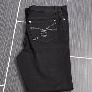 NYDJ  Black Jeans Size 10